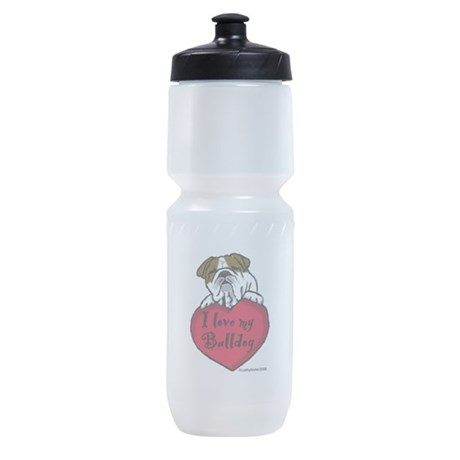 Bulldogheart.png Sports Bottle