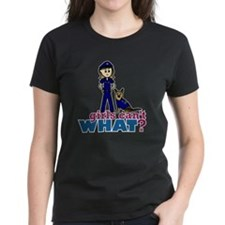 Woman K-9 Police Officer Tee