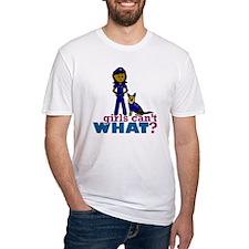 K-9 Police Woman Shirt