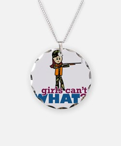 Girl Hunter Necklace