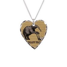 Vintage circus elephant doing Necklace