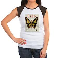 Vintage Life Flapper Bu Women's Cap Sleeve T-Shirt