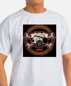pug-pirate-rope-21213-PLLO T-Shirt