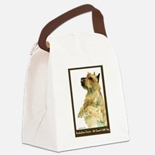 Red AustralianTerrierBeg.png Canvas Lunch Bag