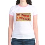 Flat Kansas Jr. Ringer T-Shirt