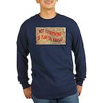 Flat Kansas Long Sleeve Dark T-Shirt