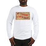 Flat Kansas Long Sleeve T-Shirt