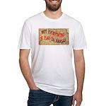 Flat Kansas Fitted T-Shirt