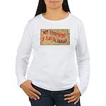 Flat Kansas Women's Long Sleeve T-Shirt