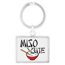Miso Cute Landscape Keychain