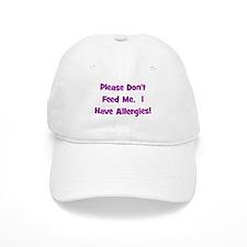 Please Don't Feed Me - Allerg Baseball Cap