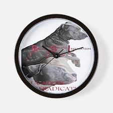 apbt pit bull anti bsl Wall Clock