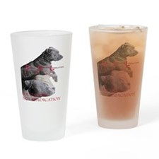 apbt pit bull anti bsl Drinking Glass