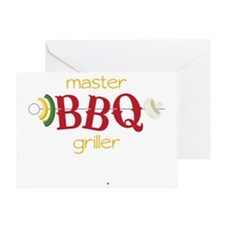 Master BBQ Griller Greeting Card