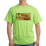 Flat Nebraska Green T-Shirt