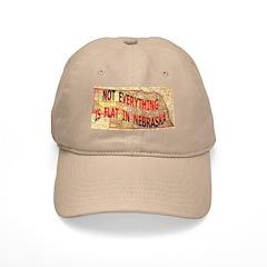 Flat Nebraska Baseball Cap