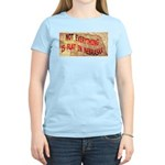 Flat Nebraska Women's Light T-Shirt