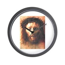 THE  VEIL OF VERONICA Wall Clock