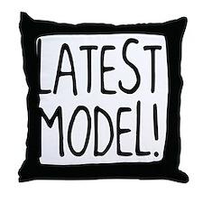 Latest Model Throw Pillow