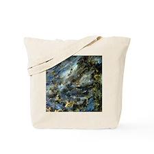 4x4 Square Labradorite Tote Bag