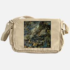 4x4 Square Labradorite Messenger Bag