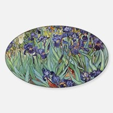 Irises by Van Gogh impressionist pa Decal