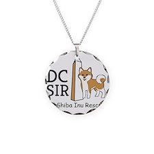 DC Shiba Inu Rescue logo Necklace