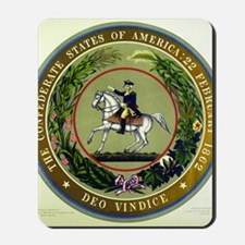 Seal of the Confederacy Mousepad