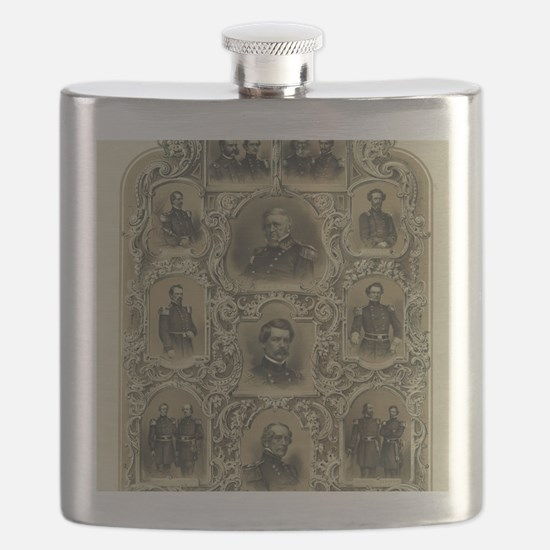 Our Generals Flask