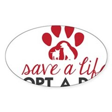 Save a Life Decal