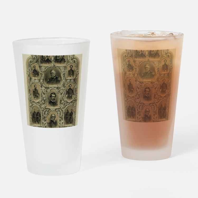 Our Generals Drinking Glass