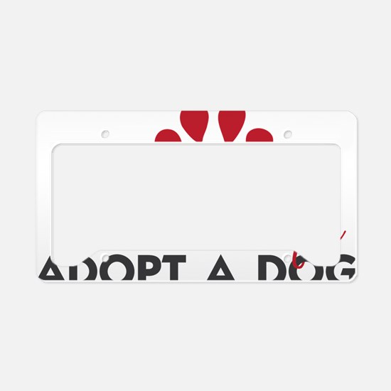Save a Life License Plate Holder
