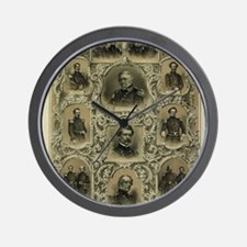 Our Generals Wall Clock