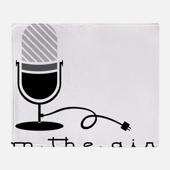 On The Air Throw Blanket
