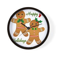 Gingerbread Man - Boy Girl Wall Clock