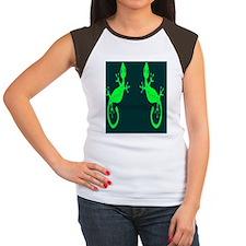 lizard flip flops Women's Cap Sleeve T-Shirt