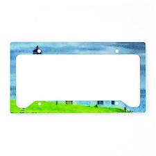 Point Judith Light License Plate Holder
