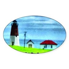 Point Judith Light Decal