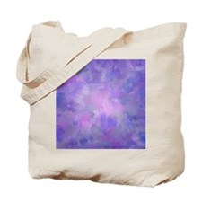 Pink, purple and lavender canvas Tote Bag