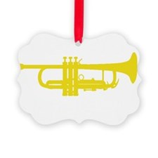 Kiss My Brass! Ornament