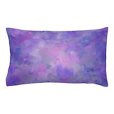 Pink, purple and lavender canvas Pillow Case