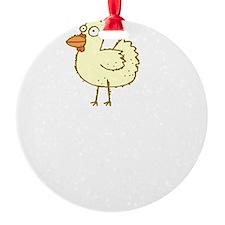 Chicken Motives Ornament