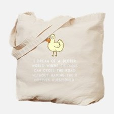 Chicken Motives Tote Bag