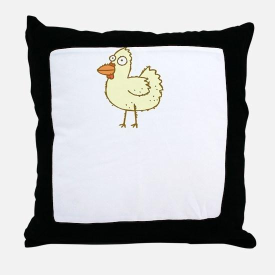 Chicken Motives Throw Pillow