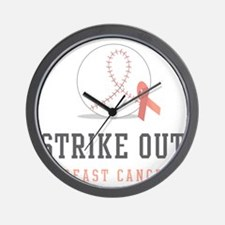 Strike Out Wall Clock