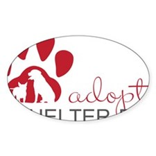 Adopt a Shelter Dog Decal