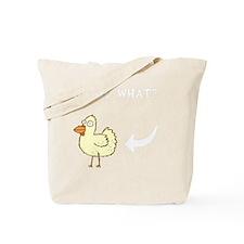 Chicken Butt Tote Bag