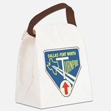 Dallas Fort Worth Turnpike Canvas Lunch Bag
