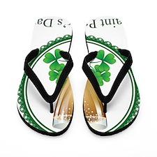Saint Patricks Day Flip Flops