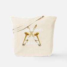 Trombones Kick Brass! Tote Bag